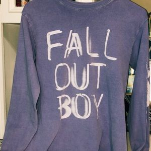 HotTopic Fall Out Boy Mania Long Sleeve